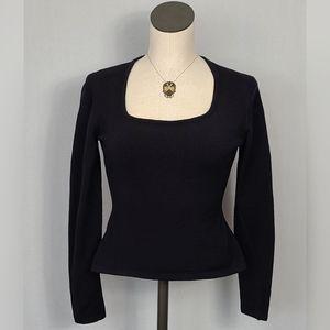 Vintage Henri Bendel Stretch Wool Sweater SZ M
